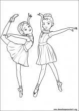Desenhos Do Bailarina Para Colorir