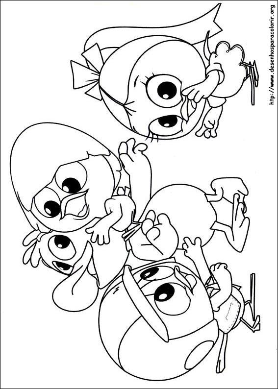 Calimero para colorir - Calimero dessin ...