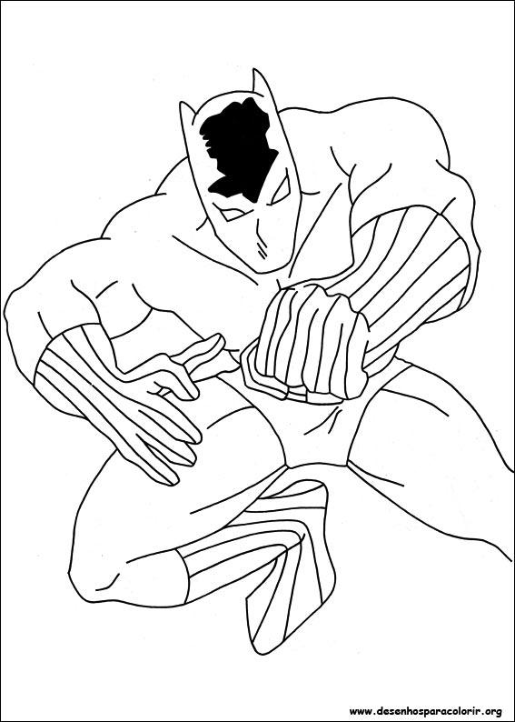 Capit o am rica para colorir for Immagini super eroi da colorare