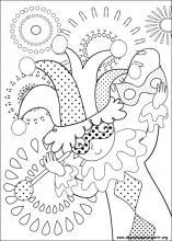 Desenhos Do Carnaval Para Colorir