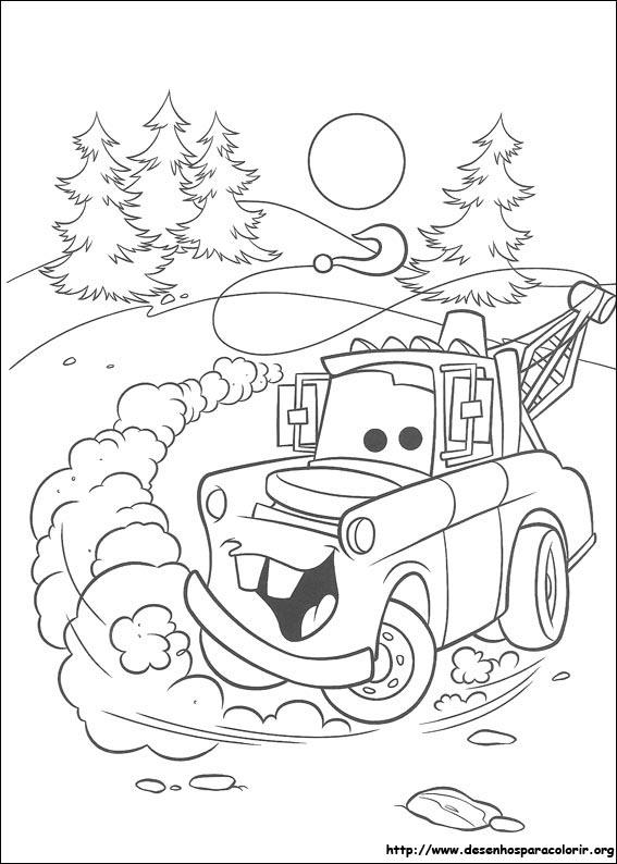 Amado Desenhos do Carros para colorir PL74