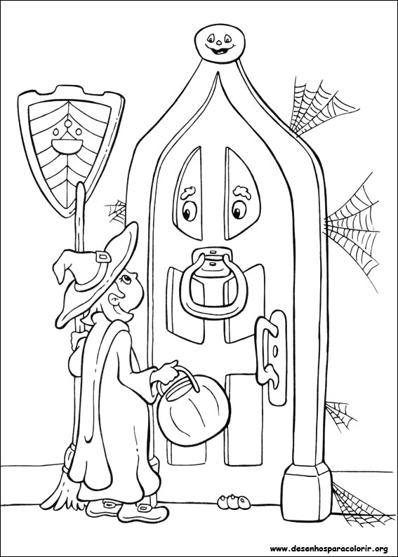 o ween coloring pages - photo#3