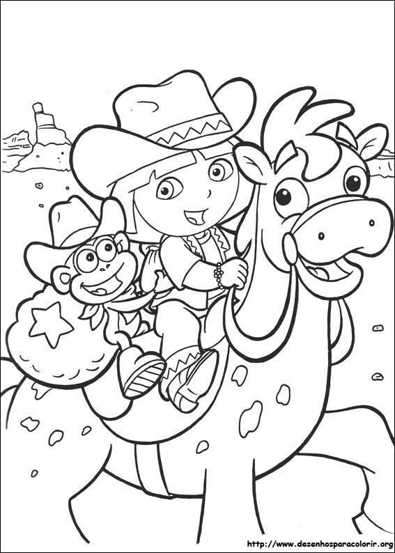 Dora a aventureira para colorir for Dora the explorer map template