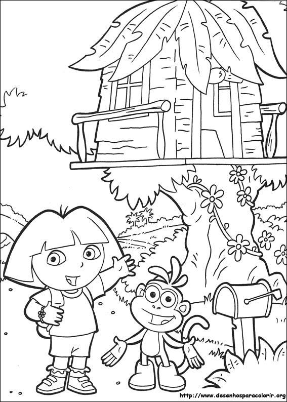 Kleurplaat De Waanzinnige Boomhut Van 52 Verdiepingen Kids N Fun De