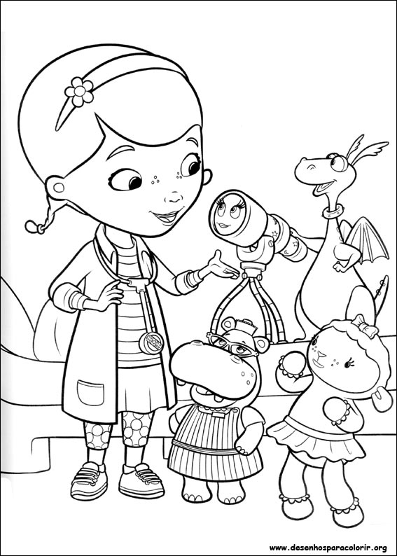 Disney Coloring Pages Doc Mcstuffins : Free doc mcstuffins halloween coloring pages