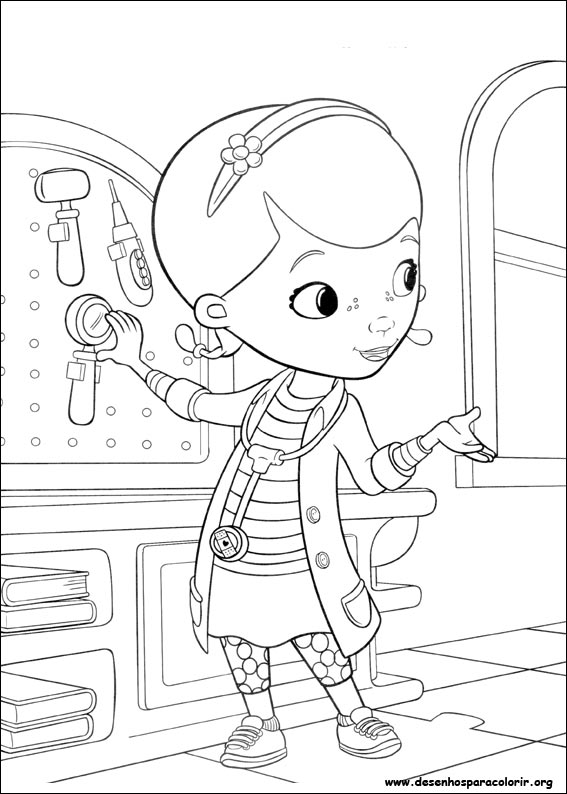 doc mcstuffins logo coloring pages - photo#17