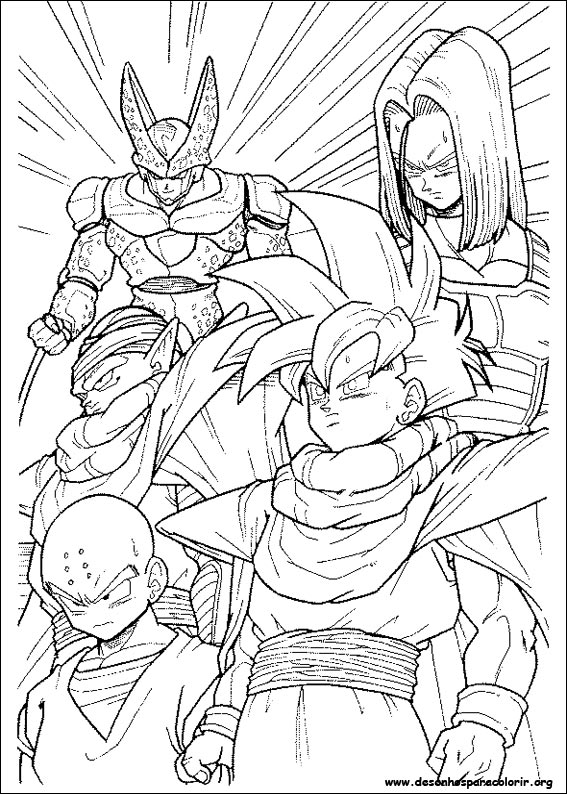 Dragon Ball desenhos