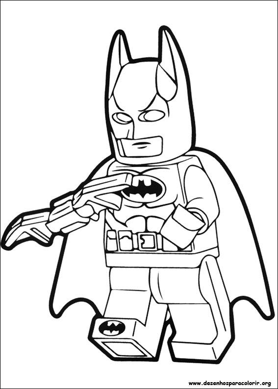 Lego Batman Para Colorir Desenhos Para Colorir Lego