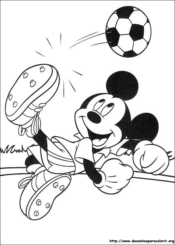 Coloring pages mickey and minnie mouse