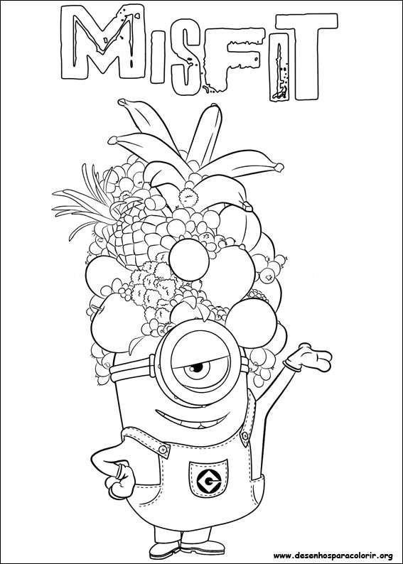minions coloring pages banana split - photo#15