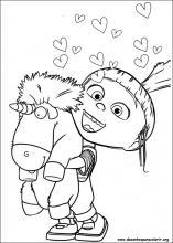 desenhos do minions para colorir
