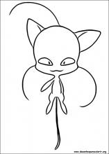Desenhos Do Miraculous As Aventuras De Ladybug Para Colorir