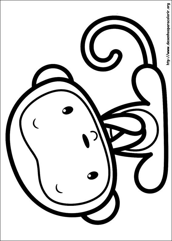 Desenhos do Ni Hao Kai-Lan para colorir