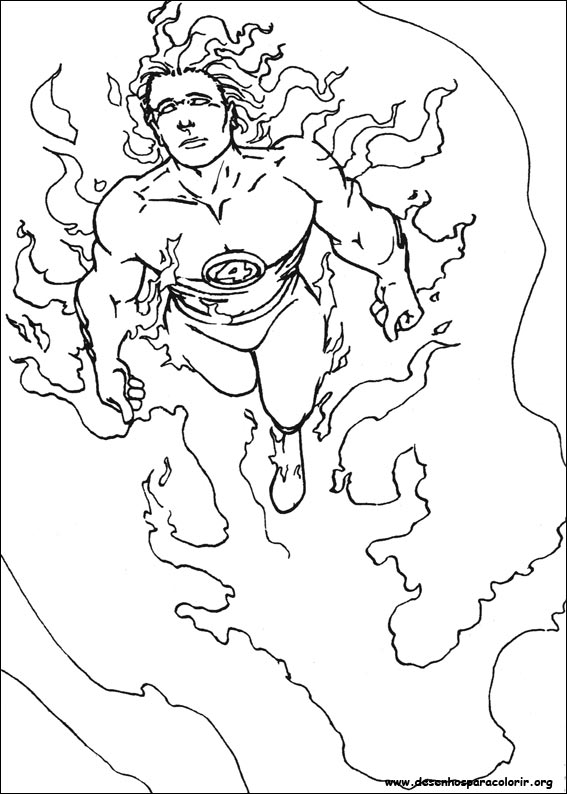elastico superheroes coloring pages - photo#10