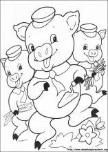 Desenhos Do Os Tr  S Porquinhos Para Colorir