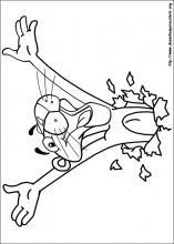 Atividades: Para Colorir: Pantera Cor de Rosa