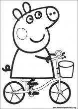 peppa pig em portugus danando no sto desenhos animados desenhos animados.