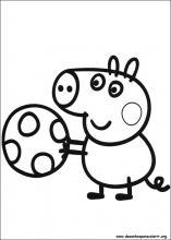 colorear-peppa-pig Desenhos do Peppa Pig para colorir pintar imprimir,  desenhos peppa pig, pintar, colorir, imprimir,