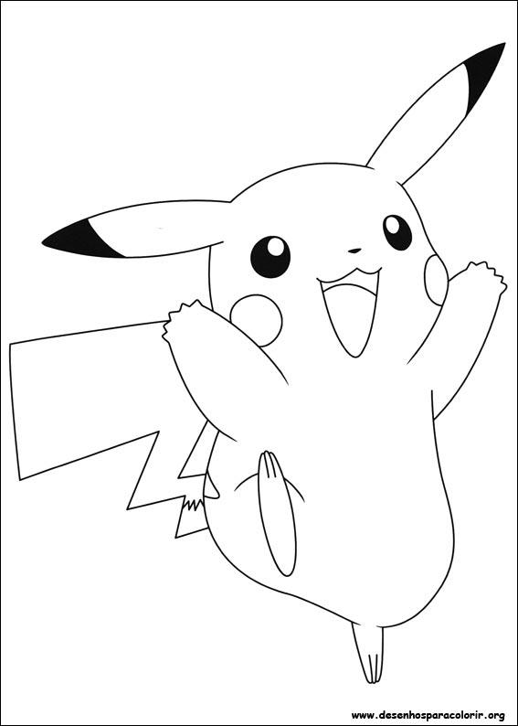 Pokemon para colorir - Pikachu coloriage ...