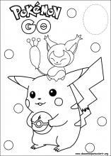 Desenhos Do Pokemon Para Colorir