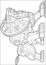 desenhos do power rangers para colorir