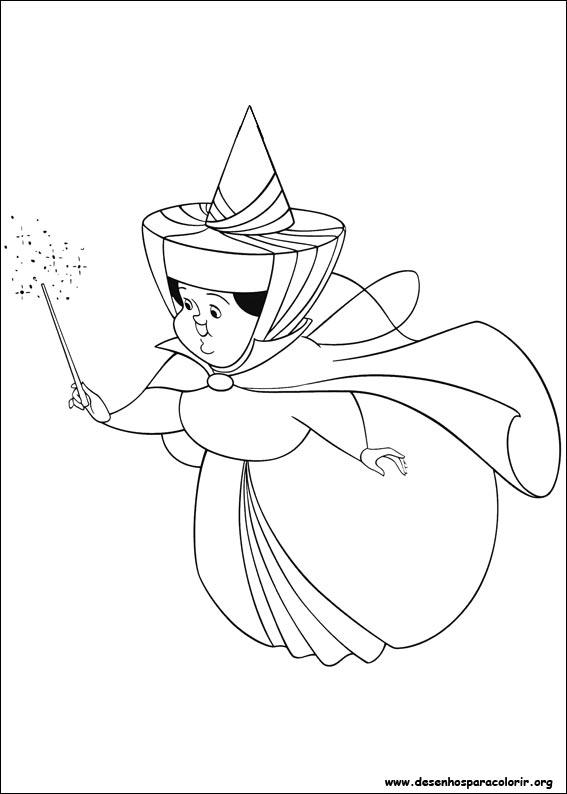 Princesinha Sofia Para Colorir