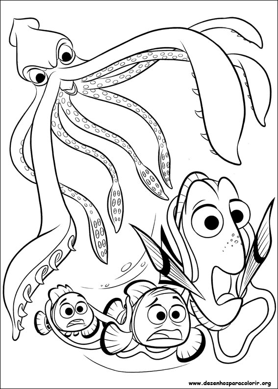 finding nemo blowfish coloring pages - photo#19