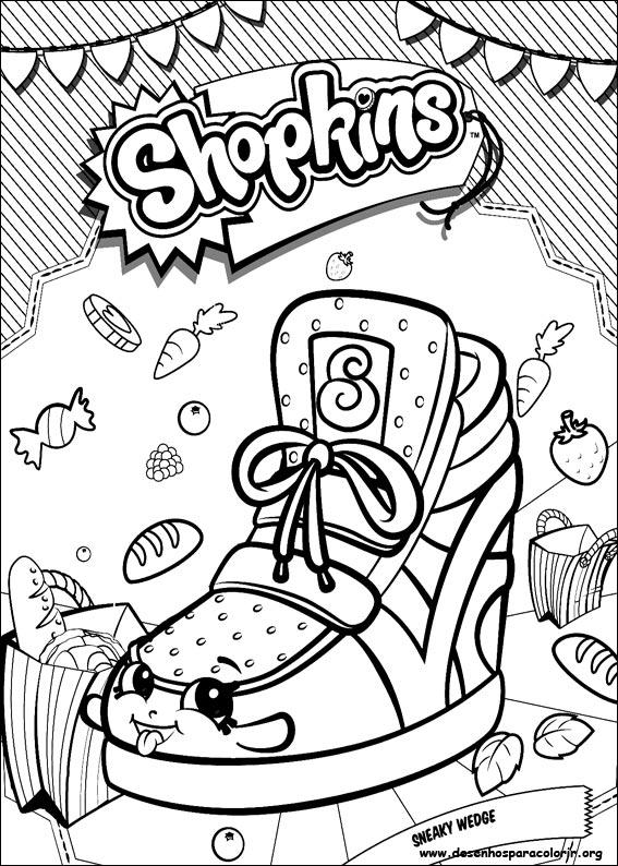 shopkins para colorir