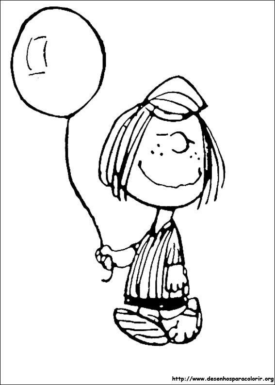 Snoopy para colorir for Charlie brown characters coloring pages