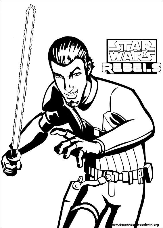 star wars rebel lego coloring pages | Star Wars Rebels para colorir