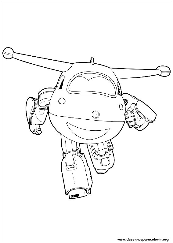 Super wings para colorir for Super wings coloring pages