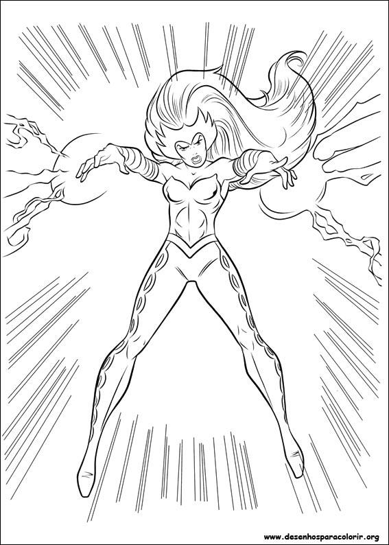 Encantador Maravilla Thor Para Colorear Imagen Ideas