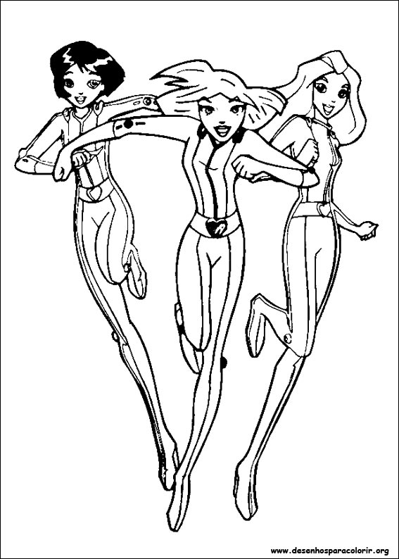 spice girl coloring pages - photo#9
