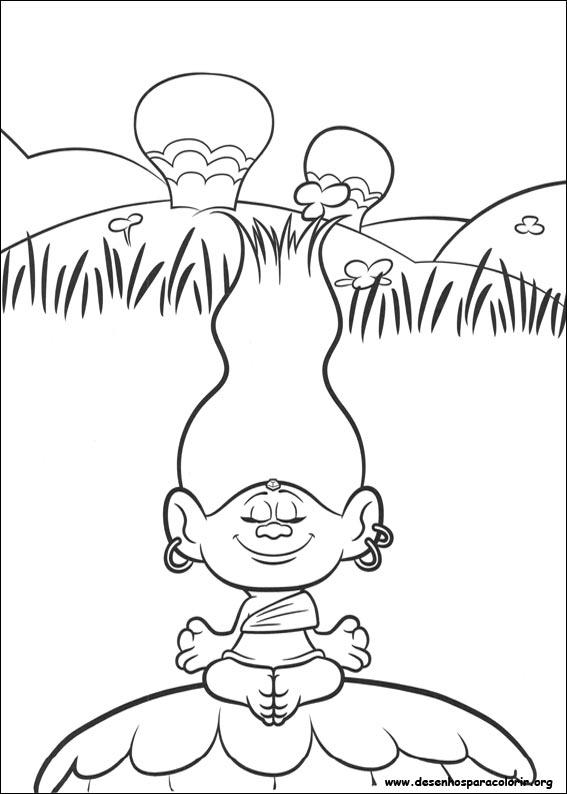 Dibujos Para Colorear Trolls Pdf Trolls Para Colorear
