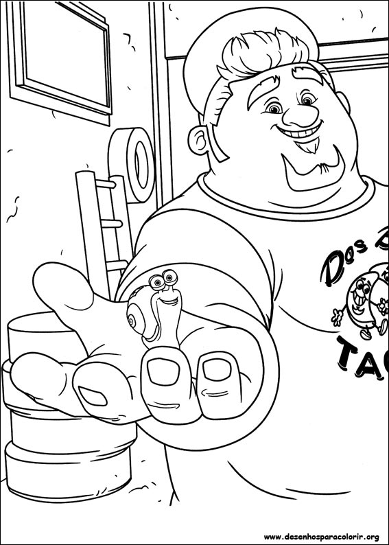 turbo coloring pages - turbo para colorir