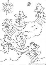 Atividades: Para Colorir: Ursinhos Carinhosos