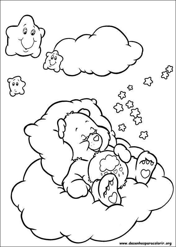 Top Ursinhos Carinhosos para colorir AR44