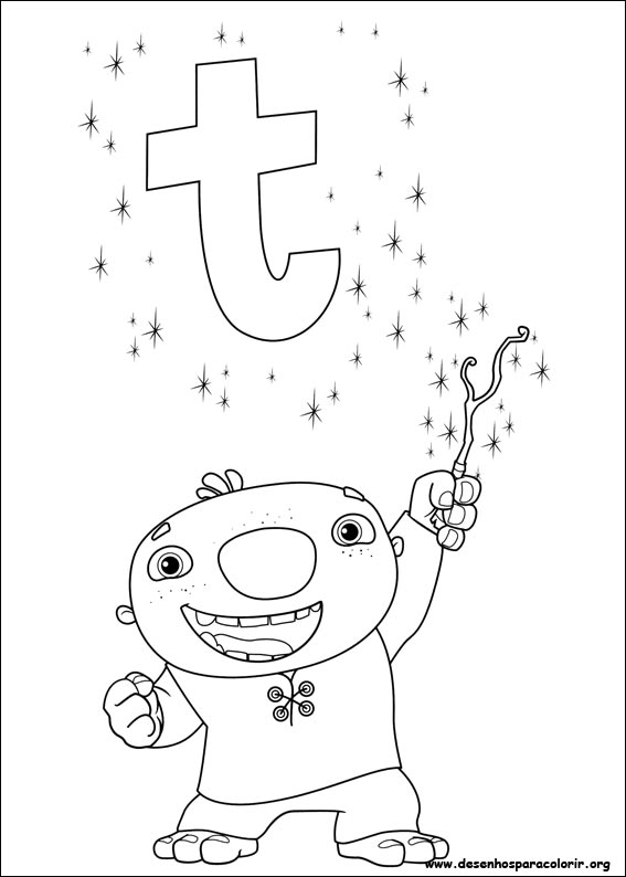Wallykazam pages coloring pages for Wallykazam coloring pages