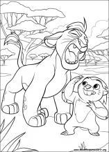 Desenhos Do A Guarda Do Leao Para Colorir