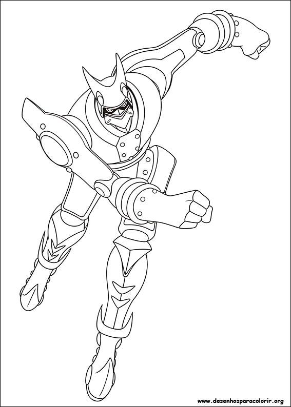 Astro Boy Para Colorir
