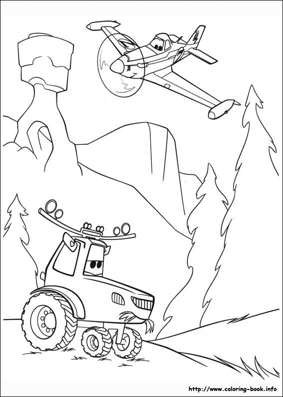 Desenhos Do Avioes 2 Herois Do Fogo Ao Resgate Para Colorir