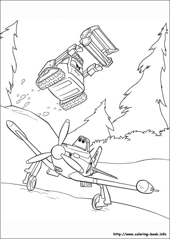 Avioes 2 Herois Do Fogo Ao Resgate Para Colorir