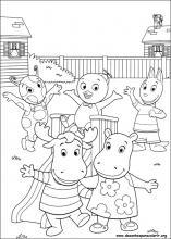 Desenhos Do Backyardigans Para Colorir