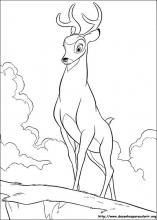 Desenhos Do Bambi Para Colorir