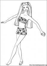 Desenhos Do Barbie Para Colorir