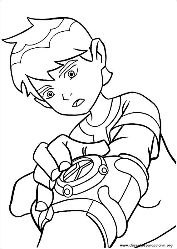 Desenhos Do Ben 10 Para Colorir