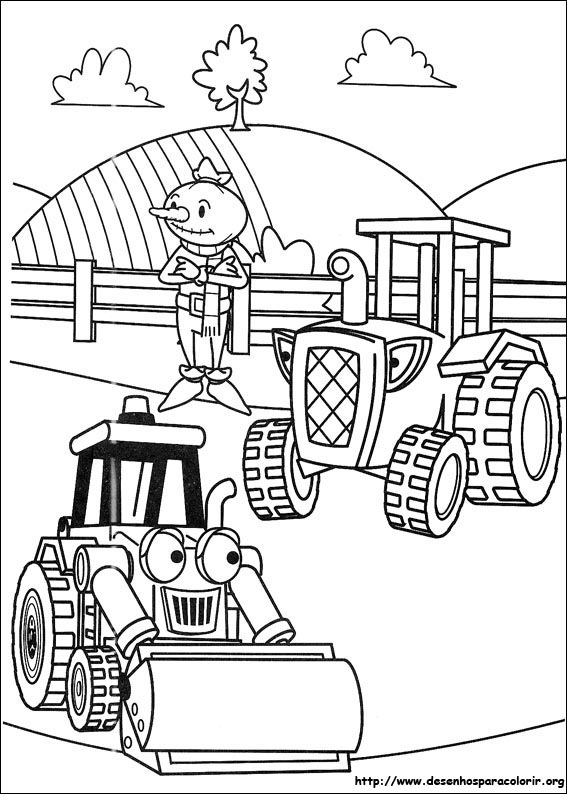 Desenhos Do Bob O Construtor Para Colorir