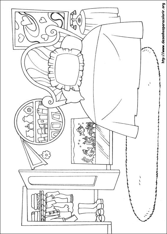 bratz-69 Desenhos do Bratz para colorir