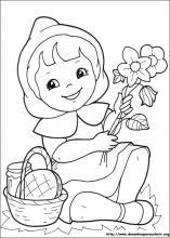 Desenhos Do Chapeuzinho Vermelho Para Colorir