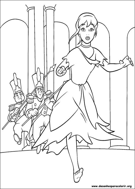 Desenhos Do Cinderela Para Colorir
